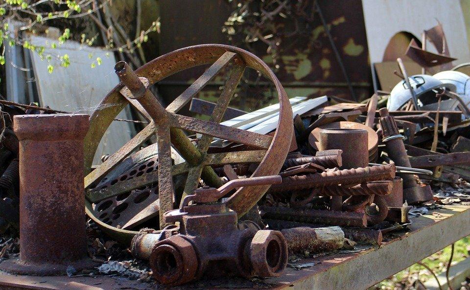Metal, Scrap, Rust, Rusty, Garbage, Junk, Rusted, Old
